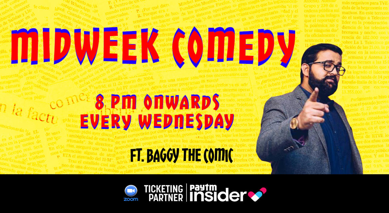 Midweek Comedy ft. Baggy
