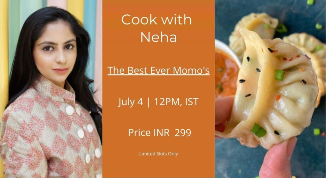 Best Ever Momo's with MasterChef Neha Shah