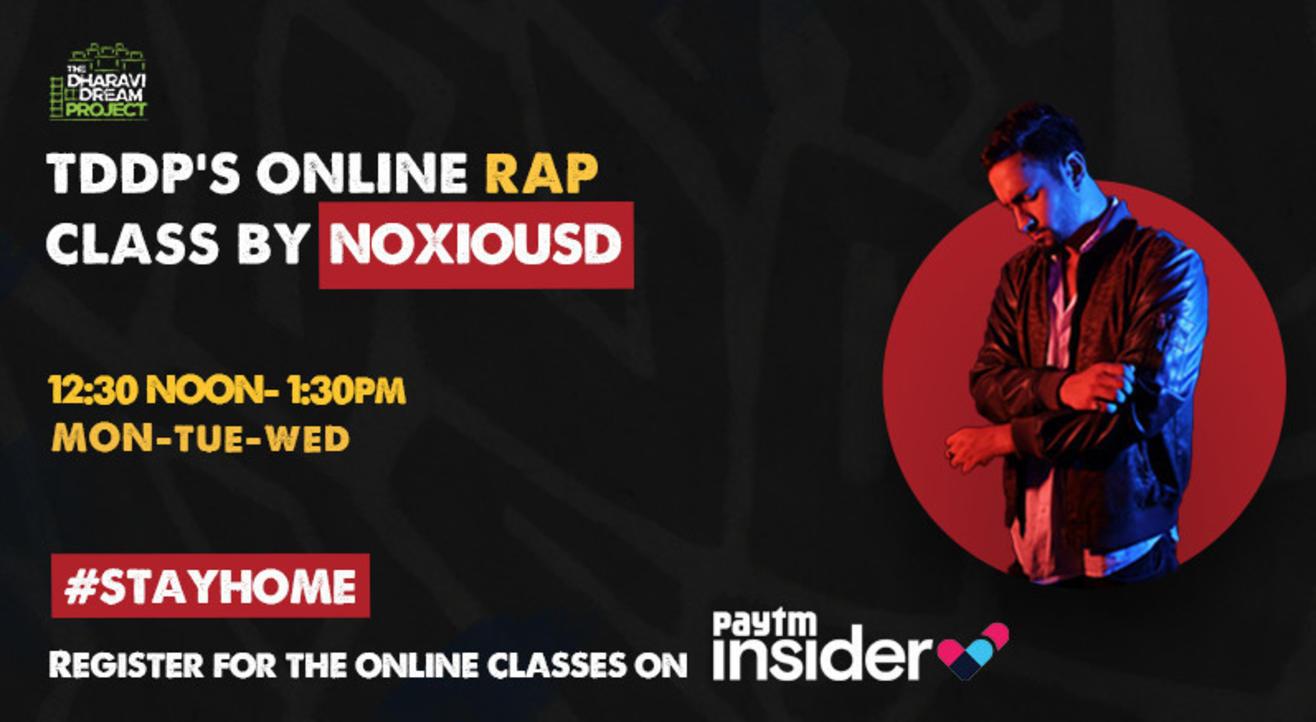#AfterSchoolOfHipHop's Online Rap workshop with  Noxious D !