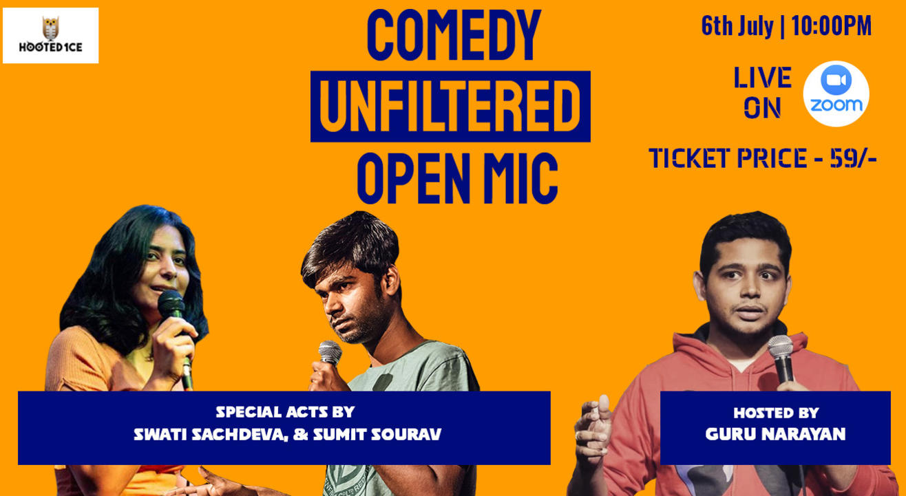 Comedy Unfiltered Open Mic ft. Sumit & Swati