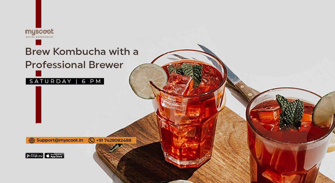 Brew Kombucha with a Professional Brewer