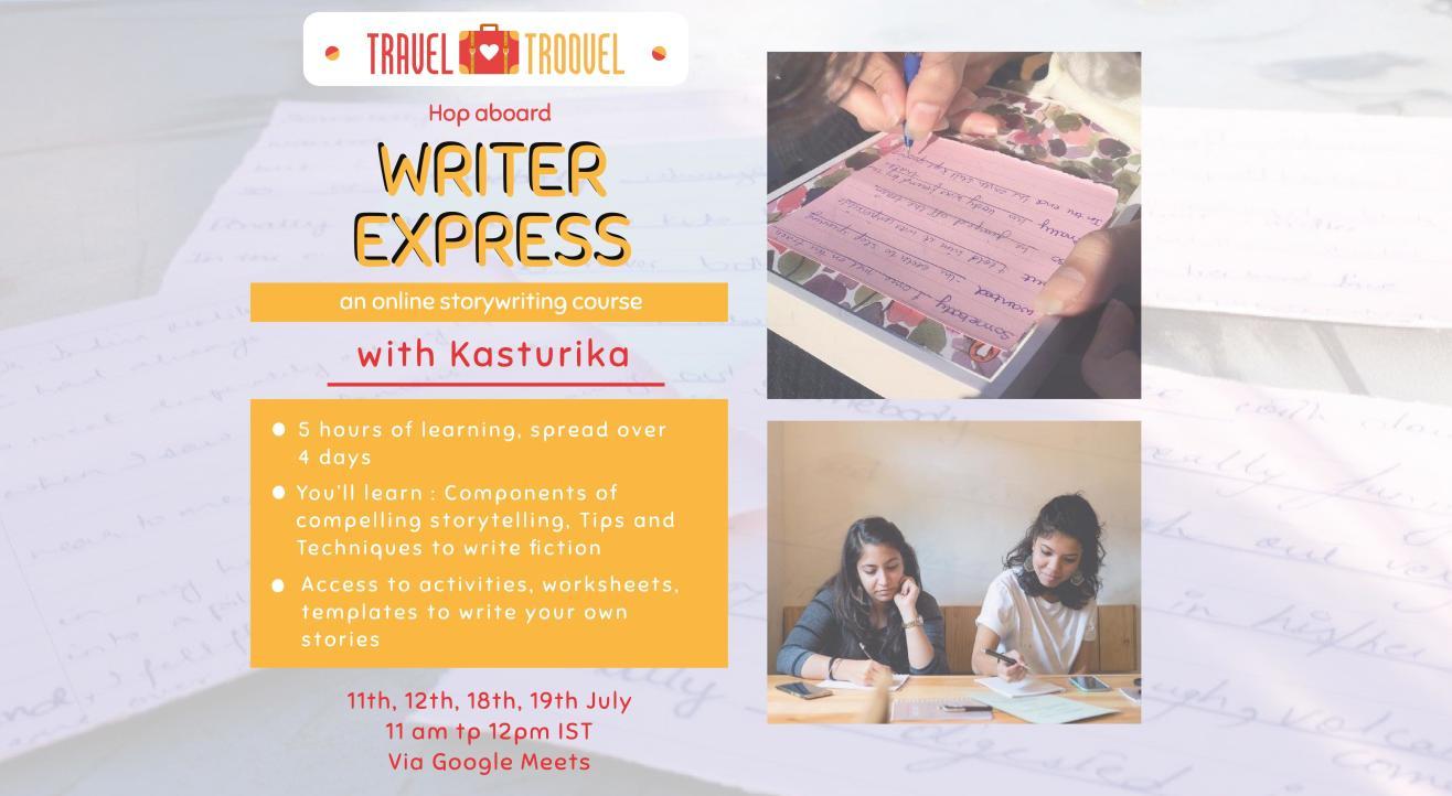 Writer Express w/ TravelTroovel