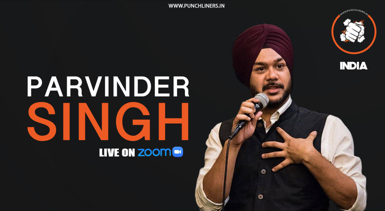 Punchliners comedy show ft. Parvinder Singh India