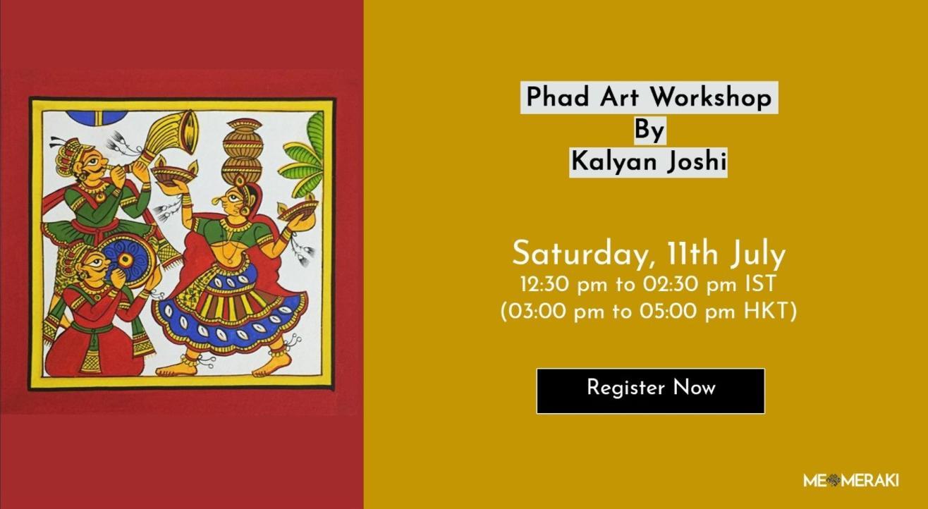 Phad Painting Workshop With Kalyan Joshi