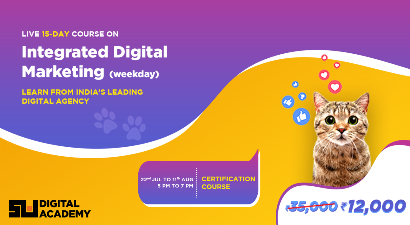 Integrated Digital Marketing Course by Sociowash Digital Academy