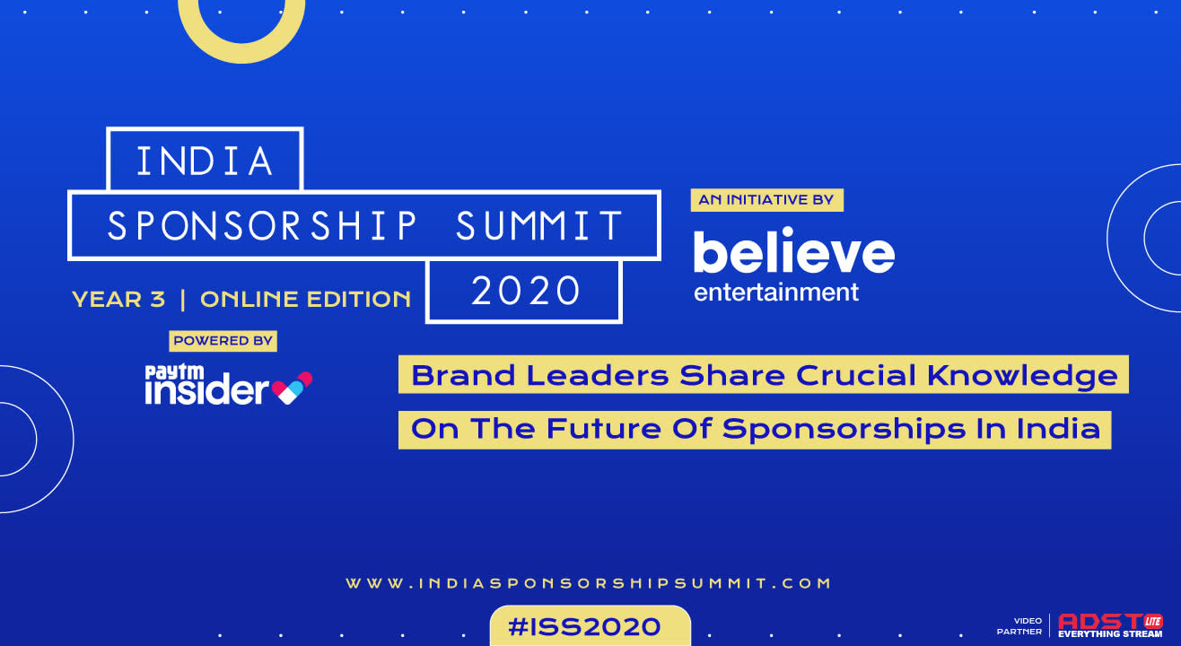 Participate in India Sponsorship Summit 2020, from home