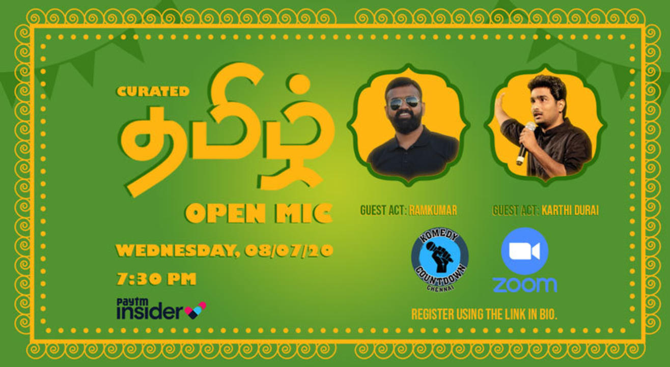 Curated Tamil Open Mic