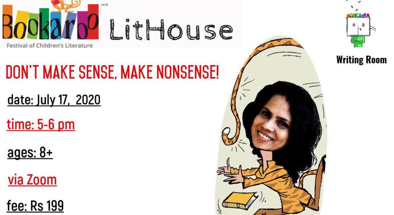 Don't Make Sense, Make Nonsense! with Anushka Ravishankar
