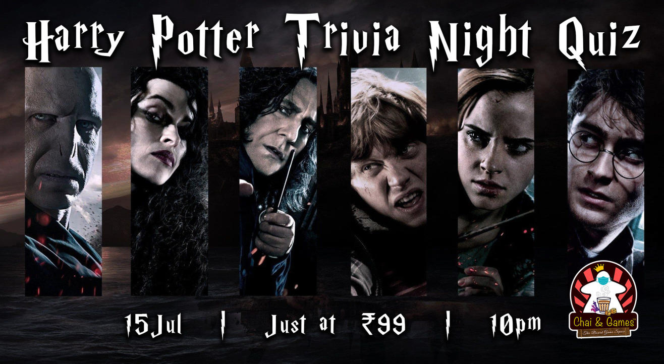 Harry Potter Trivia Night Quiz hosted by Chai & Games
