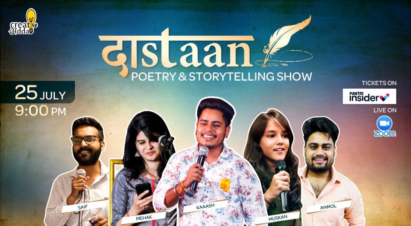 Dastaan - Poetry & Storytelling Show