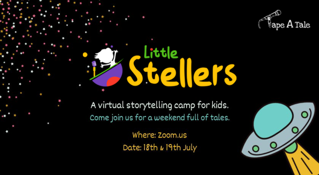 A Storytelling Camp for kids | Little Stellers