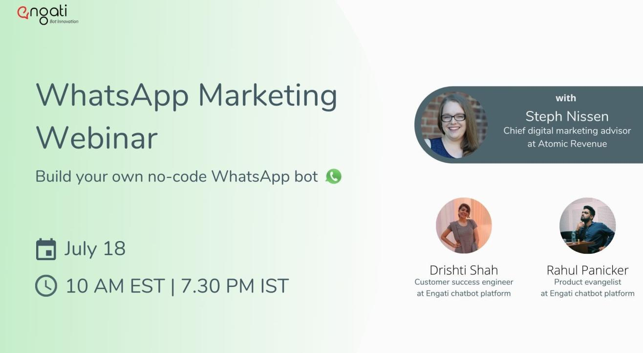 Build a no code WhatsApp Chatbot