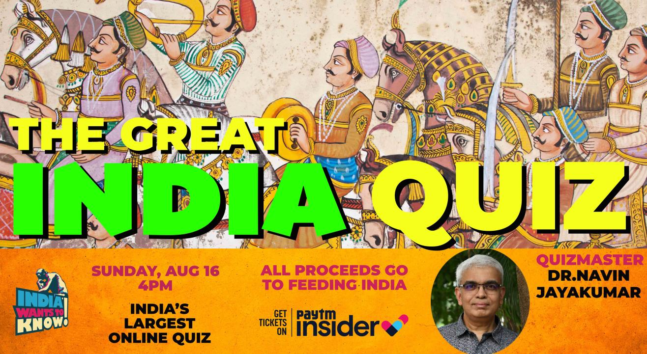 The Great India Quiz : India Wants To Know Quiz hosted by Dr.Navin