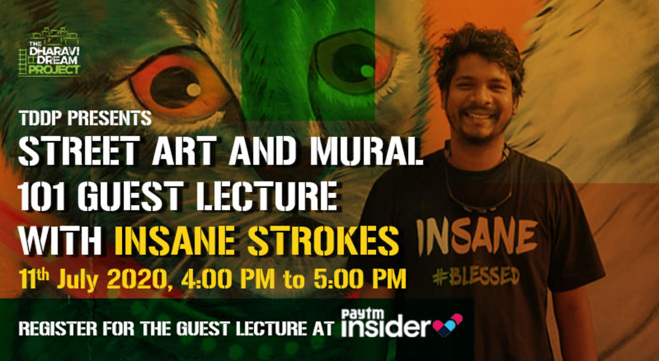 #AfterSchoolofHipHop's Online Street Art & Mural 101  Guest Lecture with INSANE STROKES!