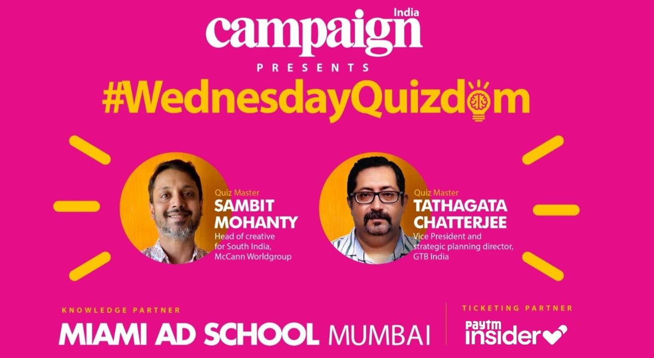 Campaign India's #WednesdayQuizdom - Week 3