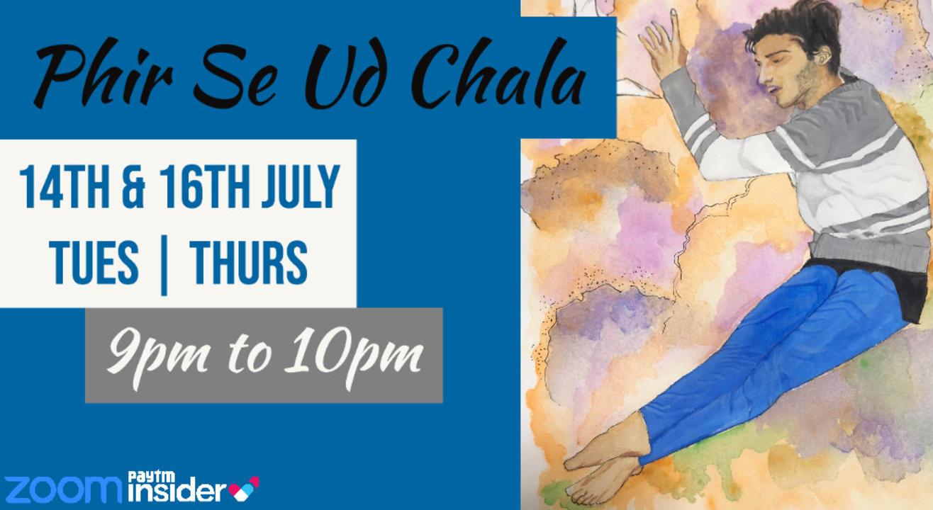 Phir Se Ud Chala | Contemporary Workshop with Jainil Mehta