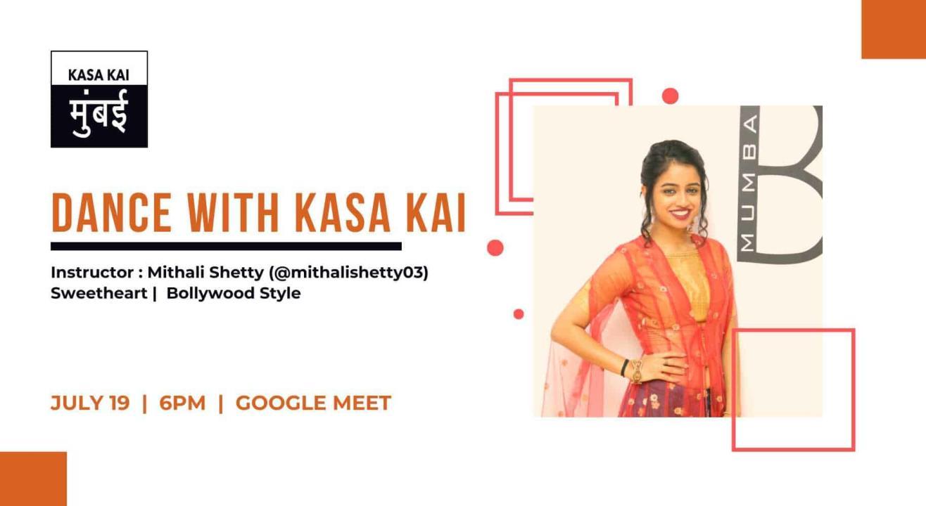 Dance Workshop with Mithali Shetty At Google Meet