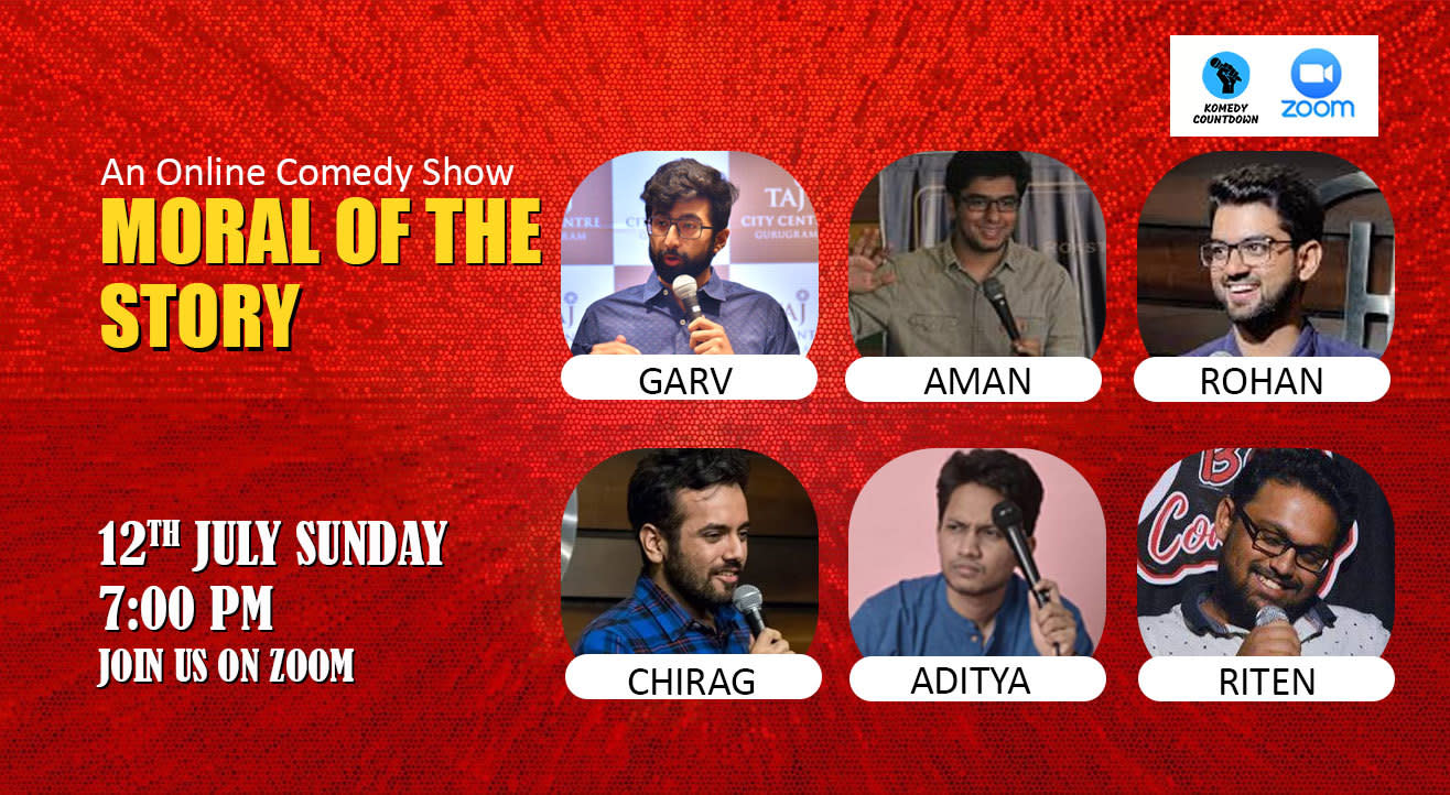 Moral Of The Story - An online comedy show