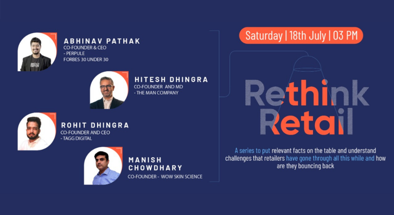 "My Webinars Manage ""Rethink Retail with Abhinav Pathak 