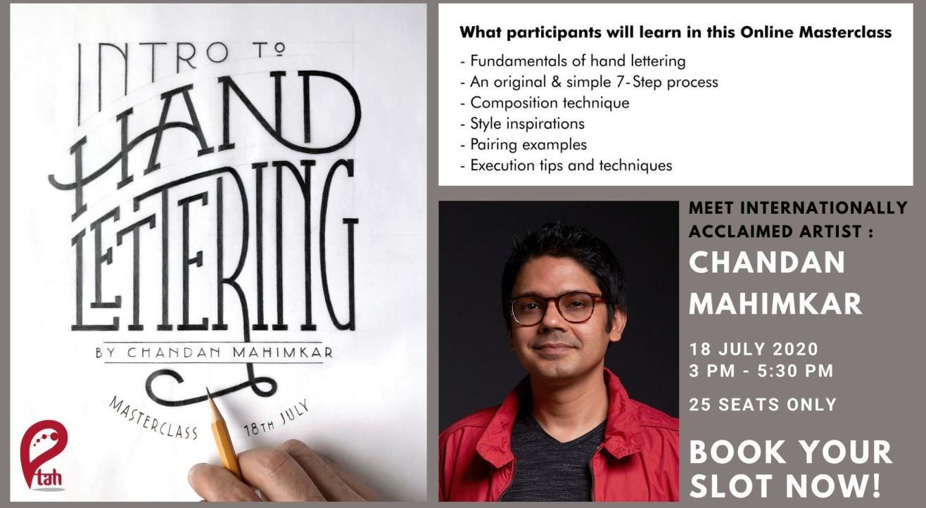 Intro to Hand Lettering: Online Masterclass by Chandan Mahimkar