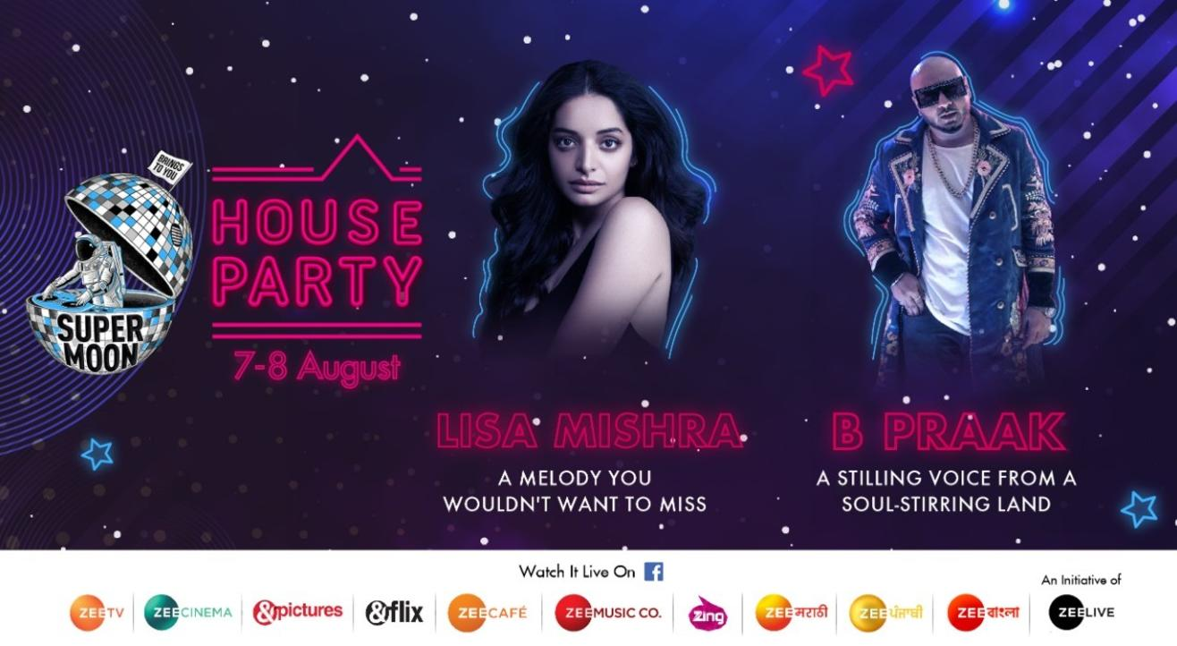 Supermoon House Party