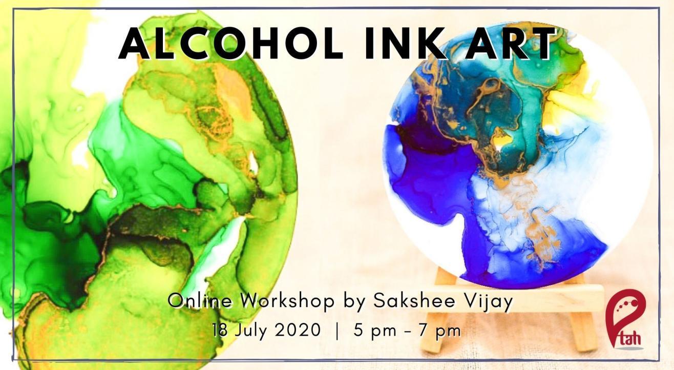 Alcohol Ink Art : Online Workshop