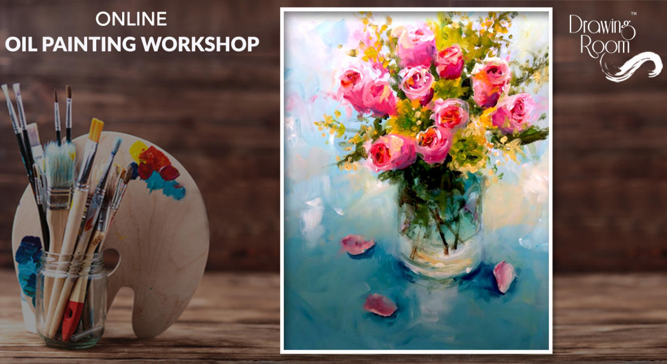 Online Oil Painting Workshop by Drawing Room