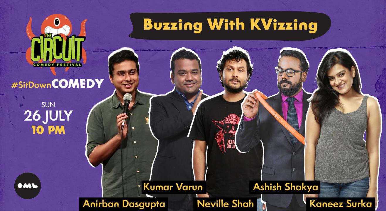 Buzzing With KVizzing ft Kumar Varun, Neville, Anirban, Ashish, Kaneez