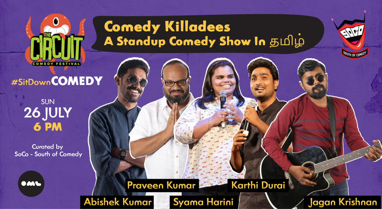Comedy Killadees | A Standup Comedy Show In தமிழ்