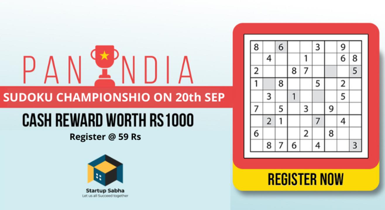 All India Sudoku Championship (Quarter 2)