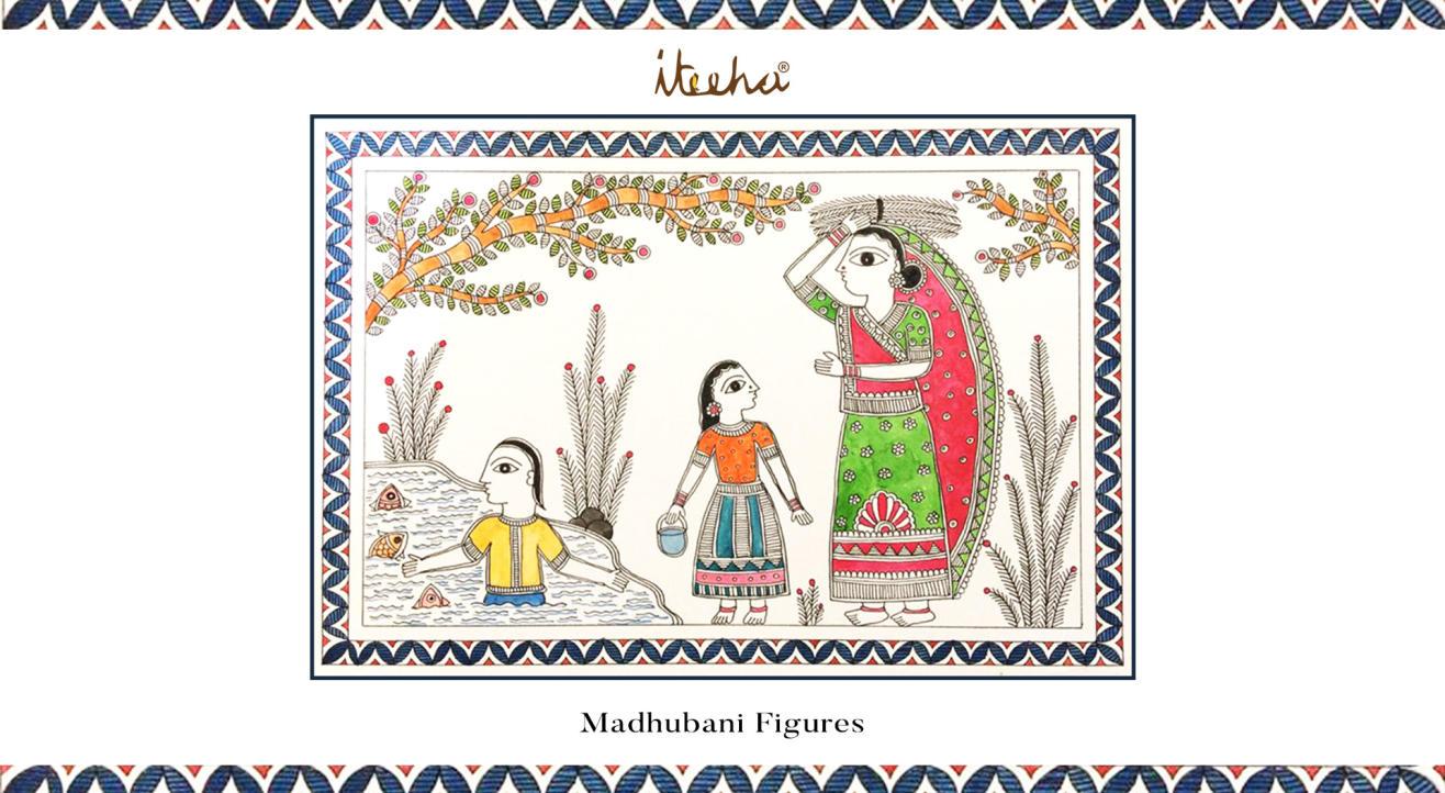 Madhubani Figures
