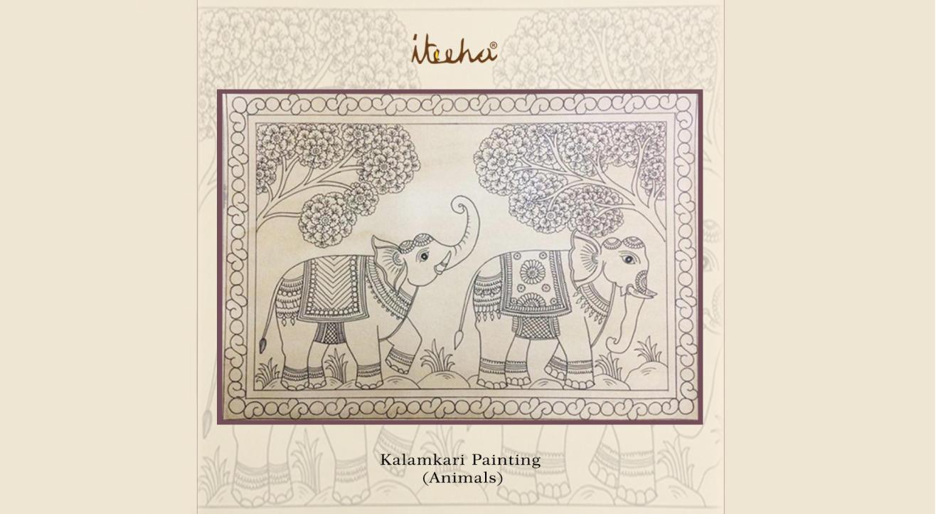 Kalamkari Painting – Animals