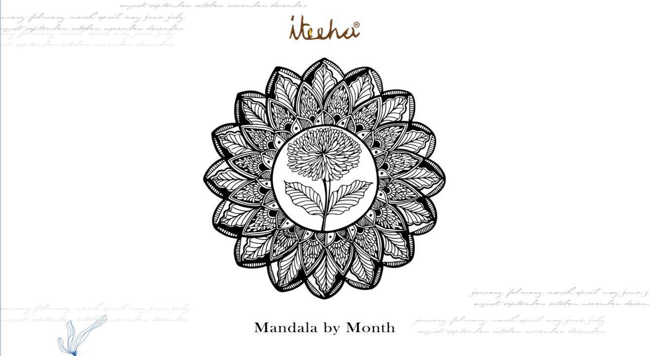 Mandala By Month