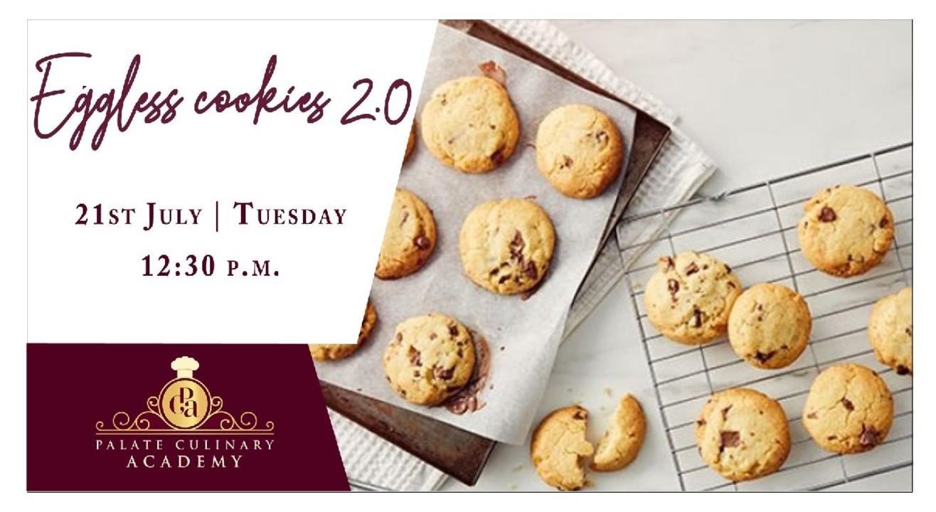 Eggless Cookies 2.0 with Rakhee Vaswani