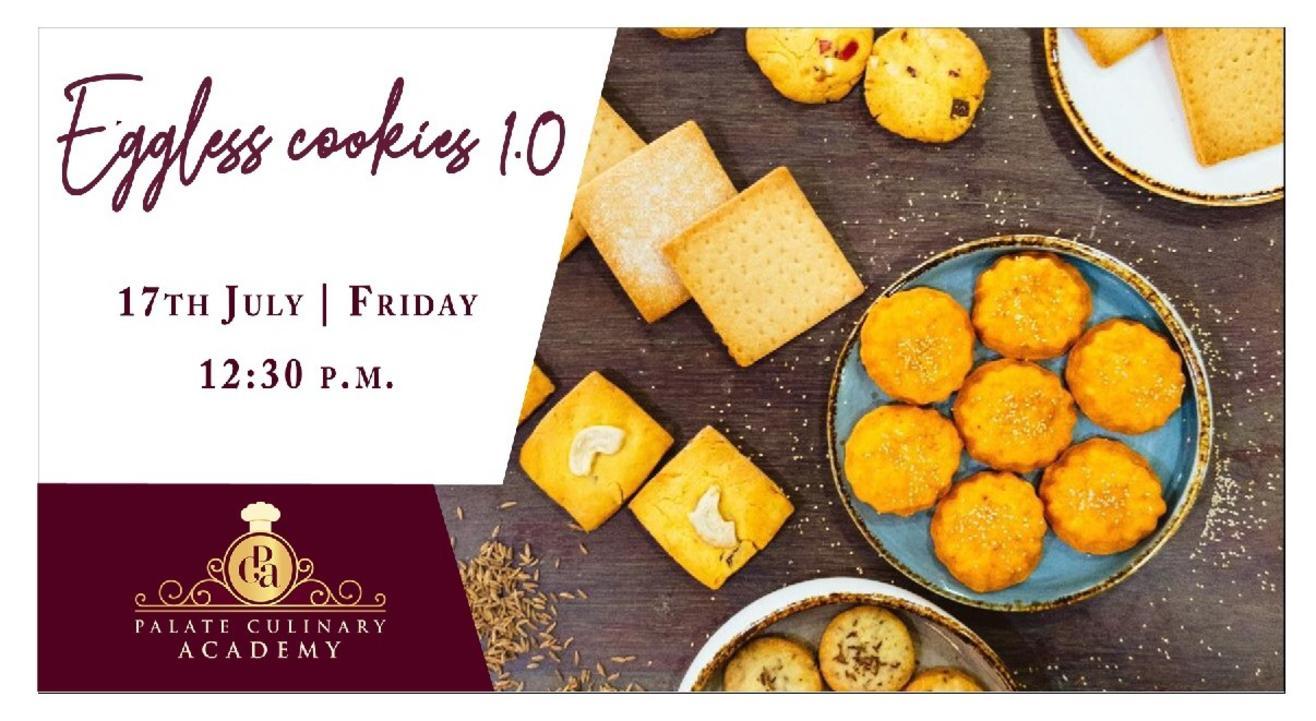 Eggless Cookies 1.0 with Rakhee Vaswani