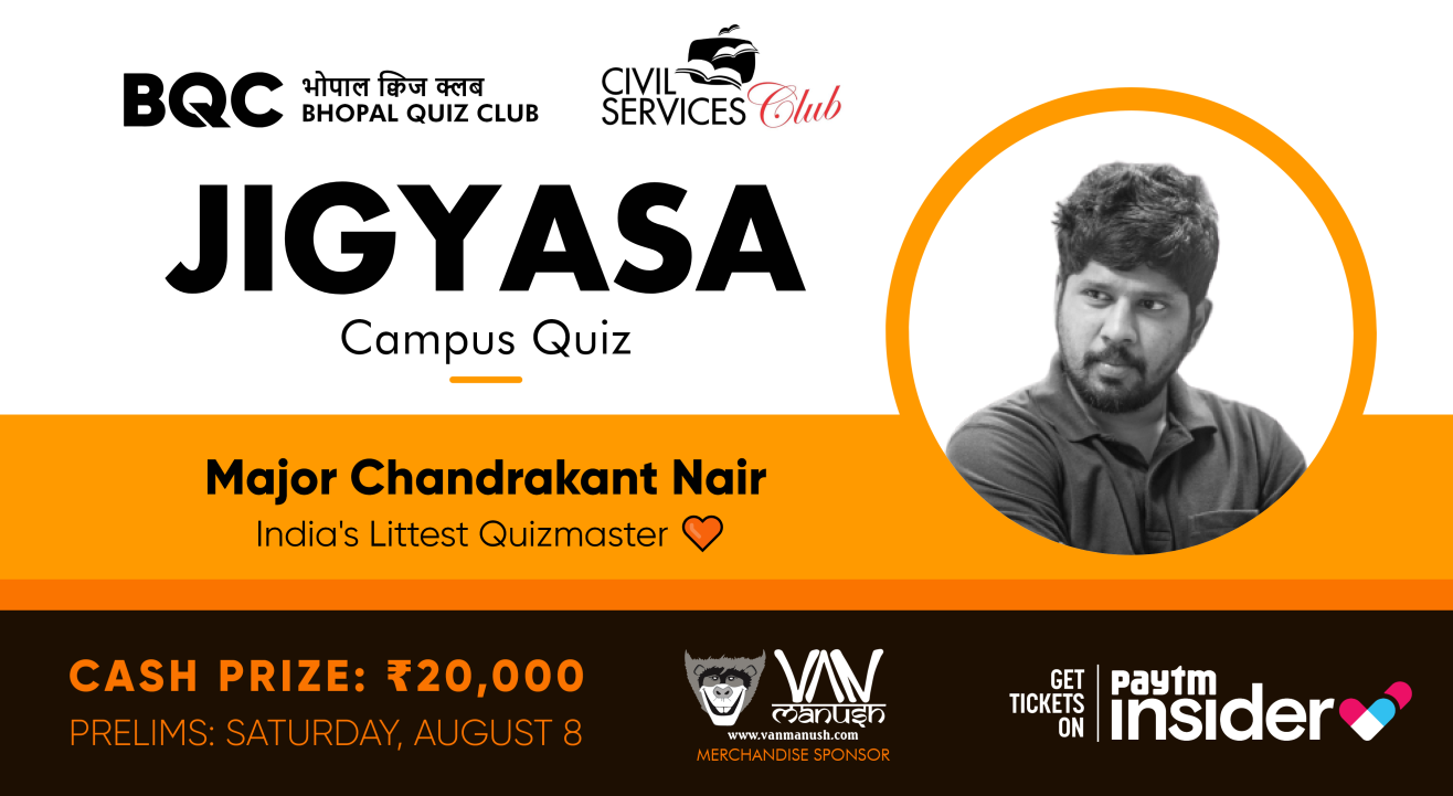 Jigyasa Campus Quiz | Major Chandrakant Nair