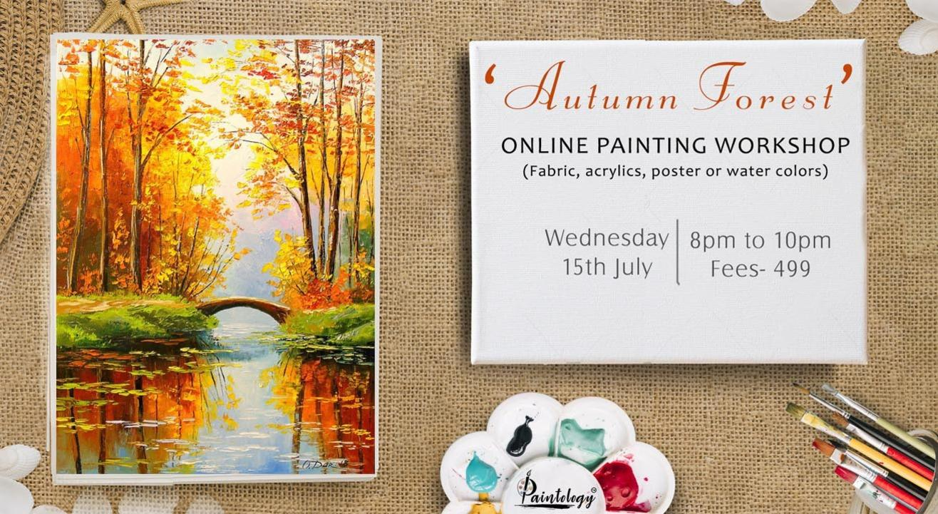 'Autumn Forest' painting workshop