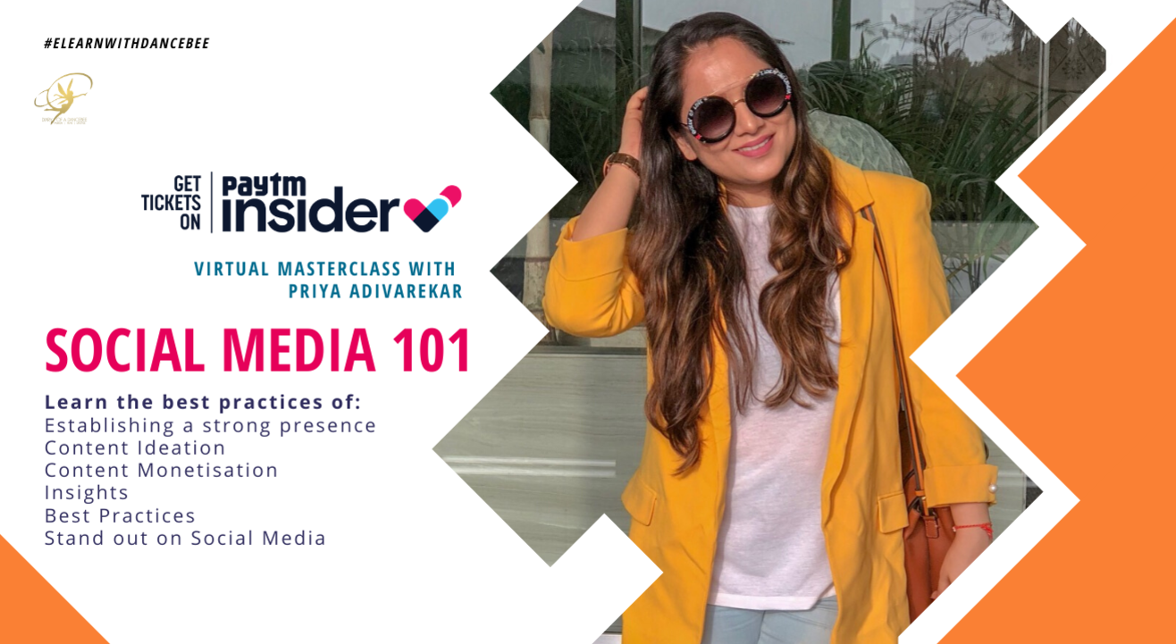 Social Media 101 - Masterclass with Priya Adivarekar