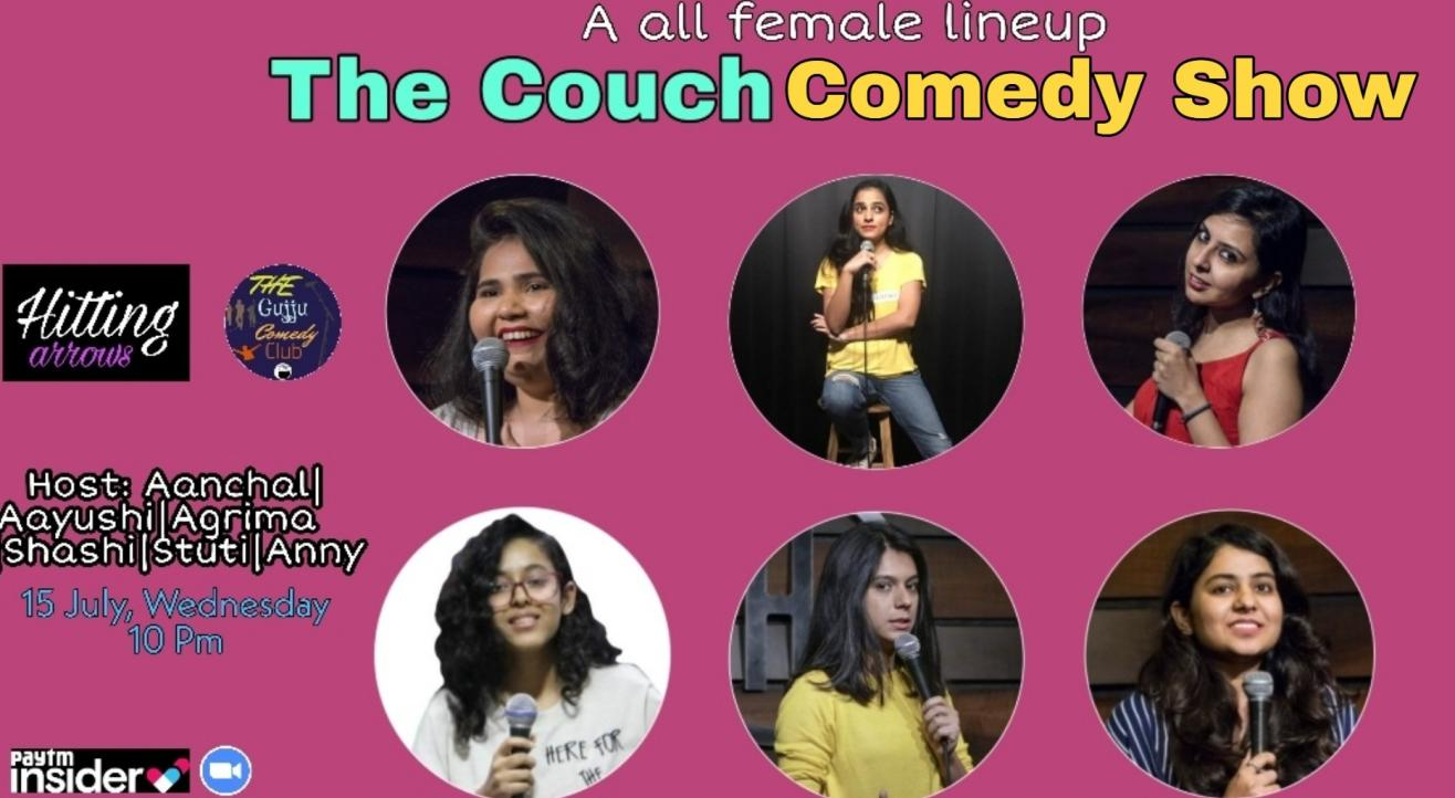 The Couch Comedy Show : A Female lineup show