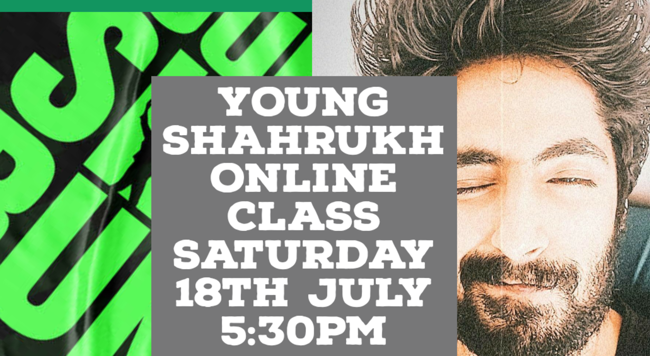 Online Choreography Class on Young Shahrukh by Prateek Aneja