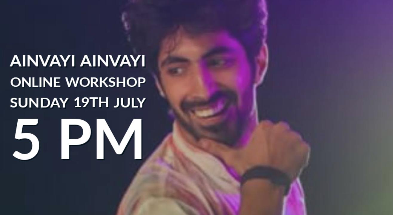 Online Bollywood Workshop on Ainvayi Ainvayi - Prateek Aneja