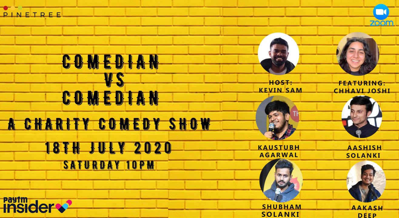 Comedian vs Comedian: A charity Comedy Show