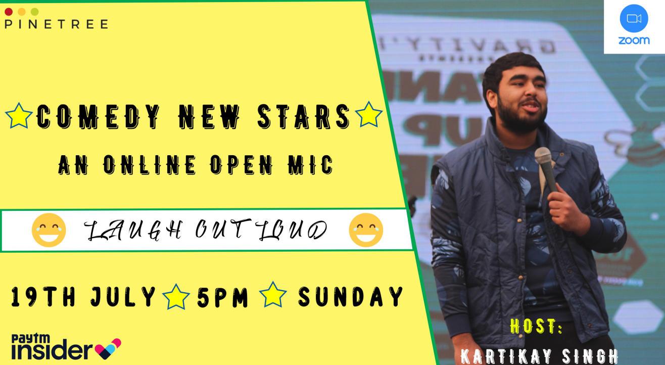 Comedy New Stars: An Online Open mic