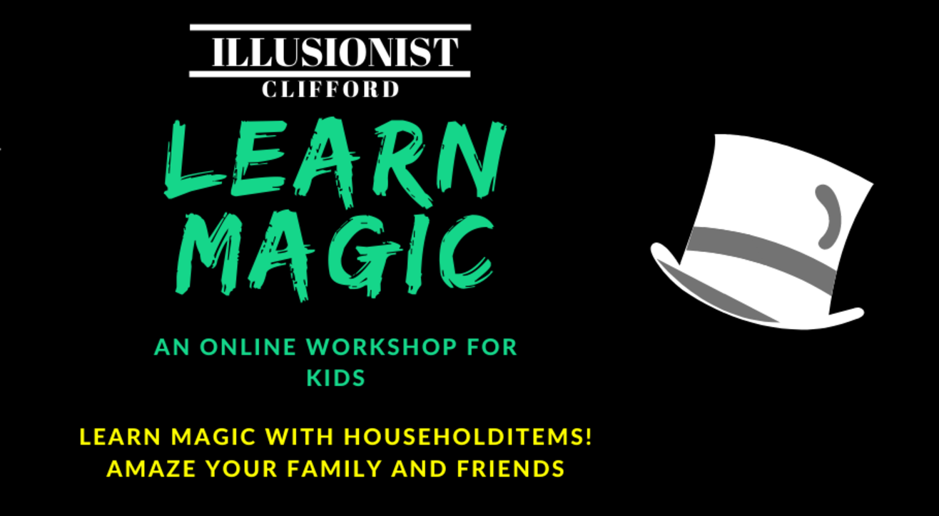 Online Magic Class For Kids- Illusionist Clifford