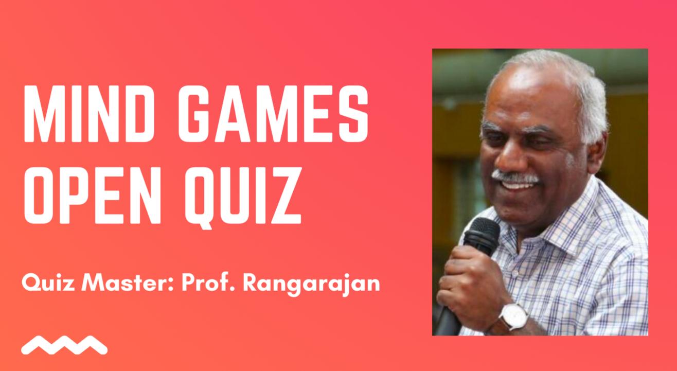 Mind Games Open Quiz