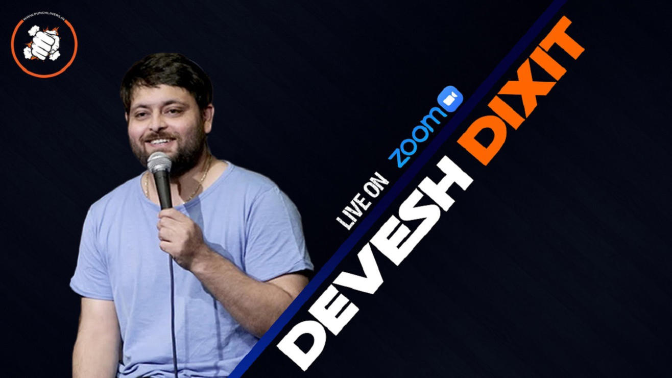 Punchliners Comedy Show ft Devesh Dixit live in India
