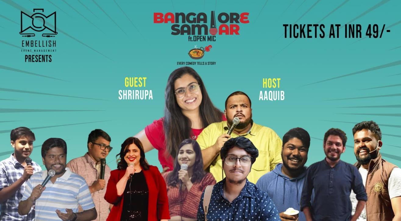 Bangalore Sambar ft.OPENMIC (English) | Embellish event