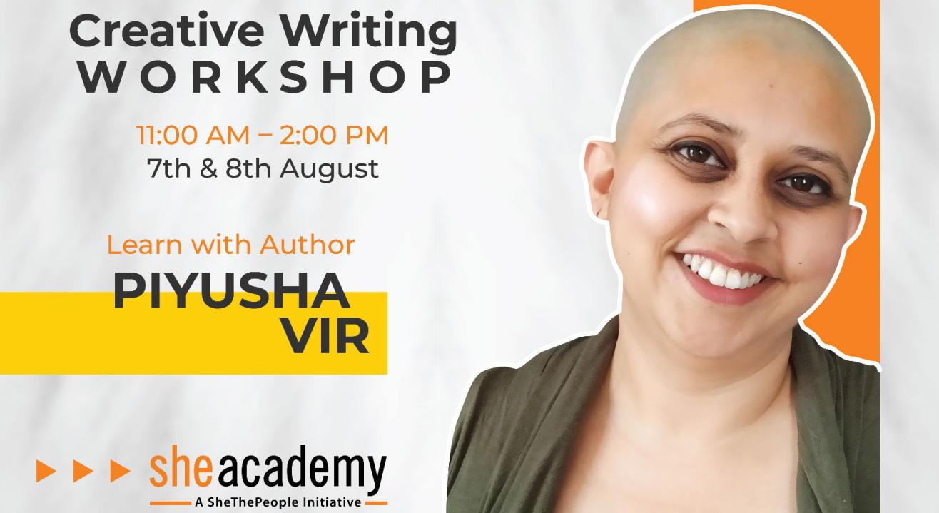 Creative Writing Workshop by Author Piyusha Vir