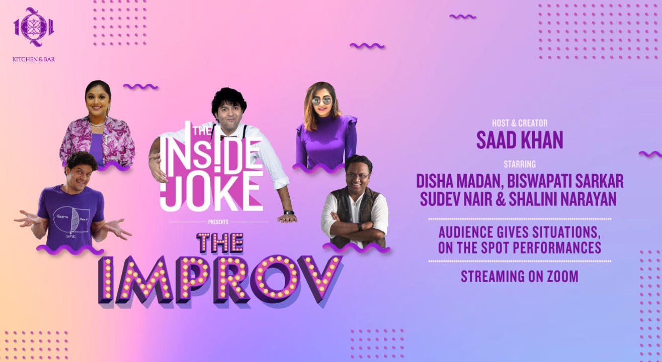 The Inside Joke - The Improv by 1Q1 Kitchen & Bar