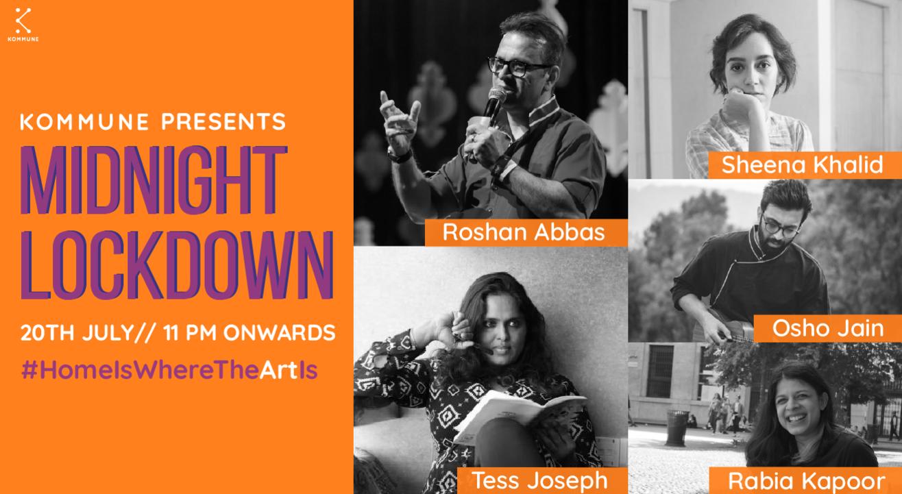 Kommune presents Midnight Lockdown